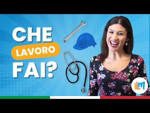 Che lavoro fai? - Impara l'Italia (Lezione 11 Livello A2. Italian for beginners)
