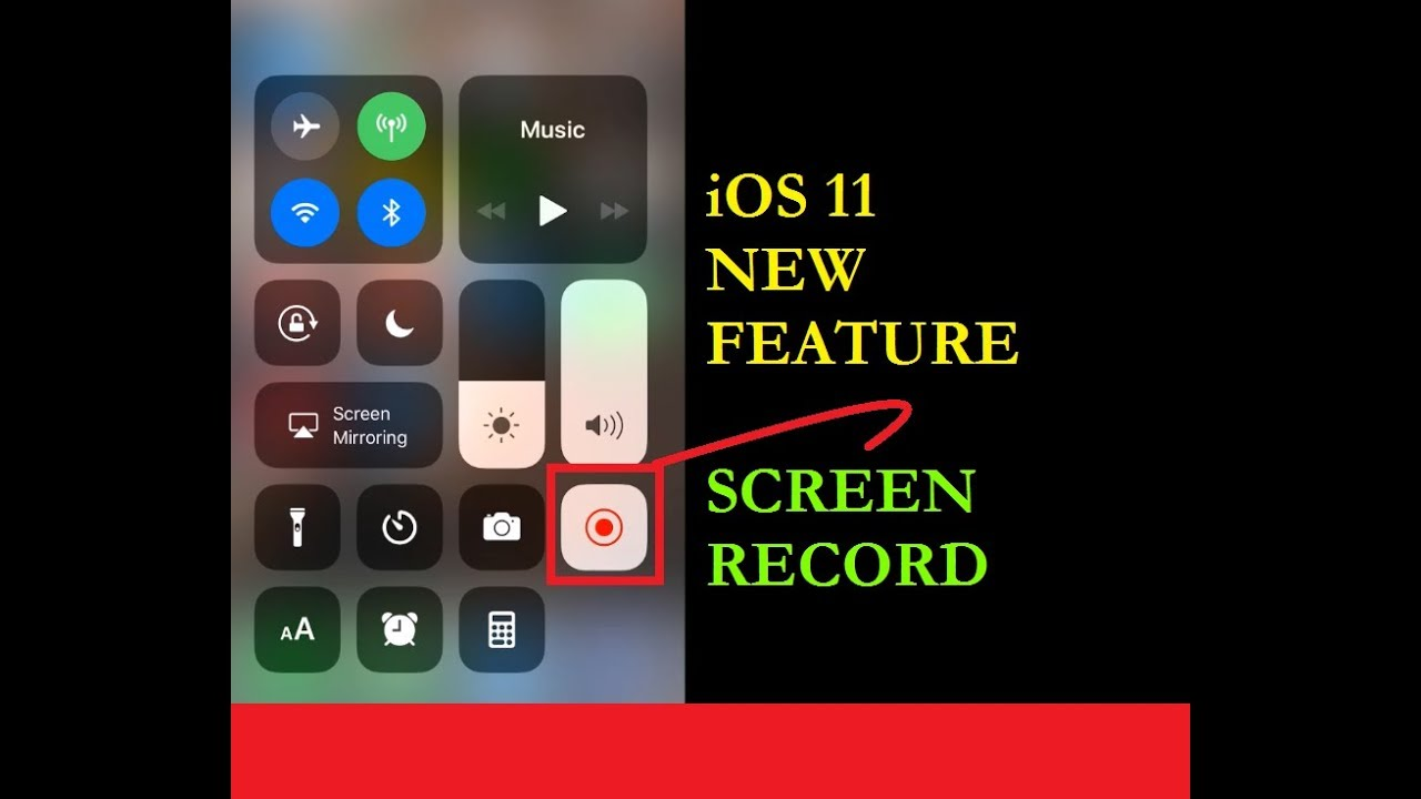 record screen iphone how to screen record on iphone ios 11 update new 12839