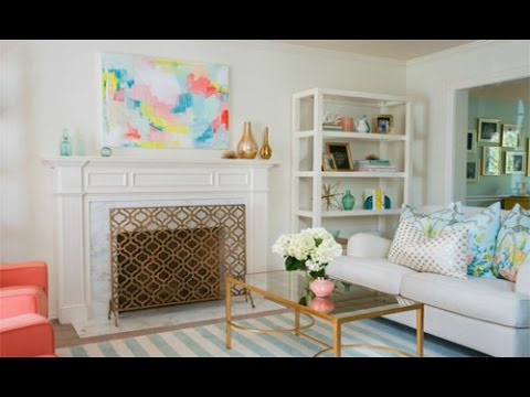 Before After A Drab Living Room Gets Polished And Playful Makeover House Beautiful