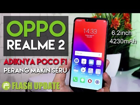 1,9 Juta!! OPPO REALME 2 INDONESIA, Ngikutin Jejak Pocophone F1 Nih.... #FlashUpdate