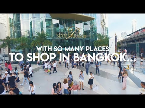 With so many places to shop in Bangkok, why Siam? | Coconuts TV