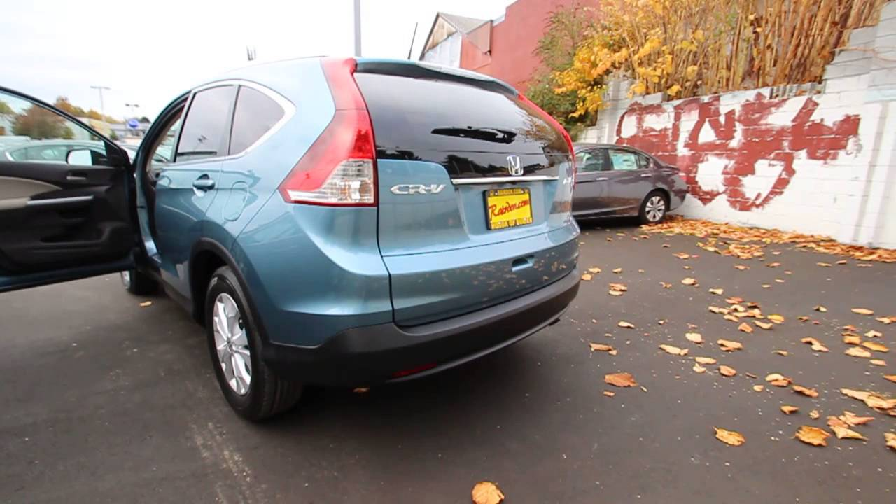 2014 Honda Crv >> EH613714 | 2014 Honda CR-V EX-L AWD | HondaofBurien | Mountain Air Metallic - YouTube