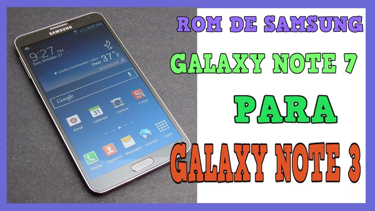 ROM ARYAMOD V2 1 DE GALAXY NOTE 7 PARA GALAXY NOTE 3 N9005/T/W8/P/V