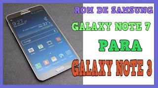 ROM ARYAMOD V2.1 DE GALAXY NOTE 7 PARA GALAXY NOTE 3 N9005/T/W8/P/V