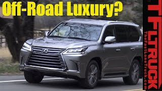 2017 Lexus LX570 Buddy Review: Father and Son Review the Luxurious LX570