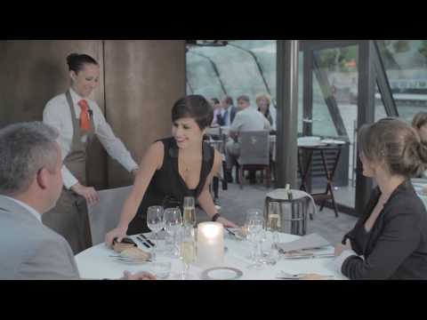 Dinner Cruise on the Seine River - Video