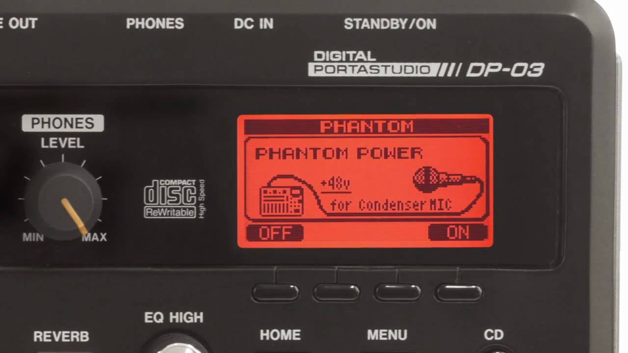 DP-03 Digital Portastudio