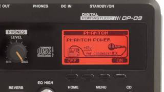 TASCAM DP-03 Digital Portastudio