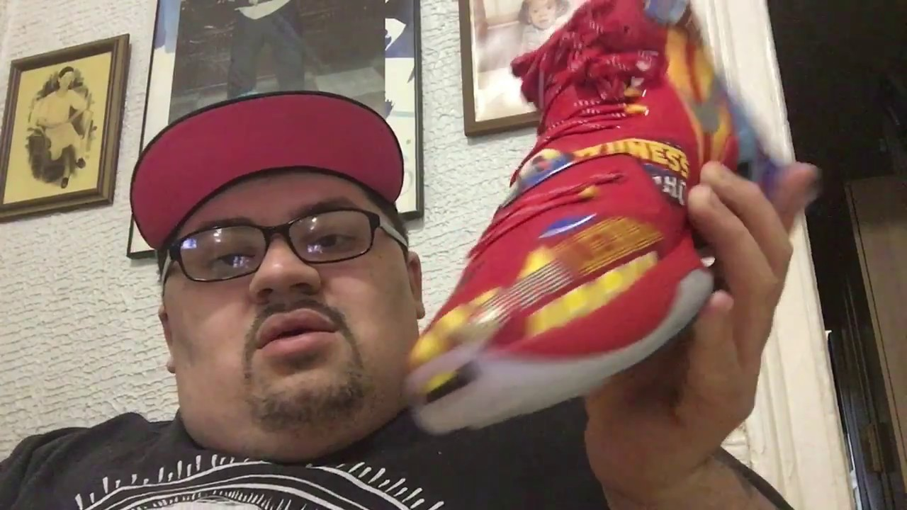 4f1cbcebab6 Nike Lebron 13 EYBL Sample Copped Off of Ebay For The Low! - YouTube