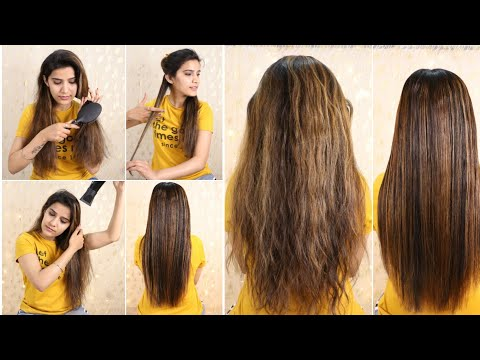 How To : Keratin Treatment At Home For Straight Smooth Shiny Hair | Super Style Tips
