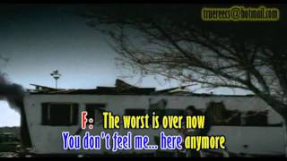 Broken - Seether ft. Amy Lee karaoke (without vocal)