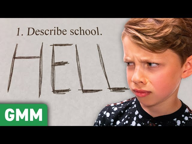 Hilarious Kid's Test Answers (GAME)