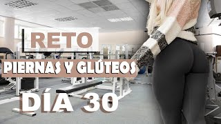 """Día 30 Reto """"PIERNAS y GLUTEOS""""/ Ejercicios para PIERNAS MOLDEADAS Y GRANDES/workout Adryán Medellín"""