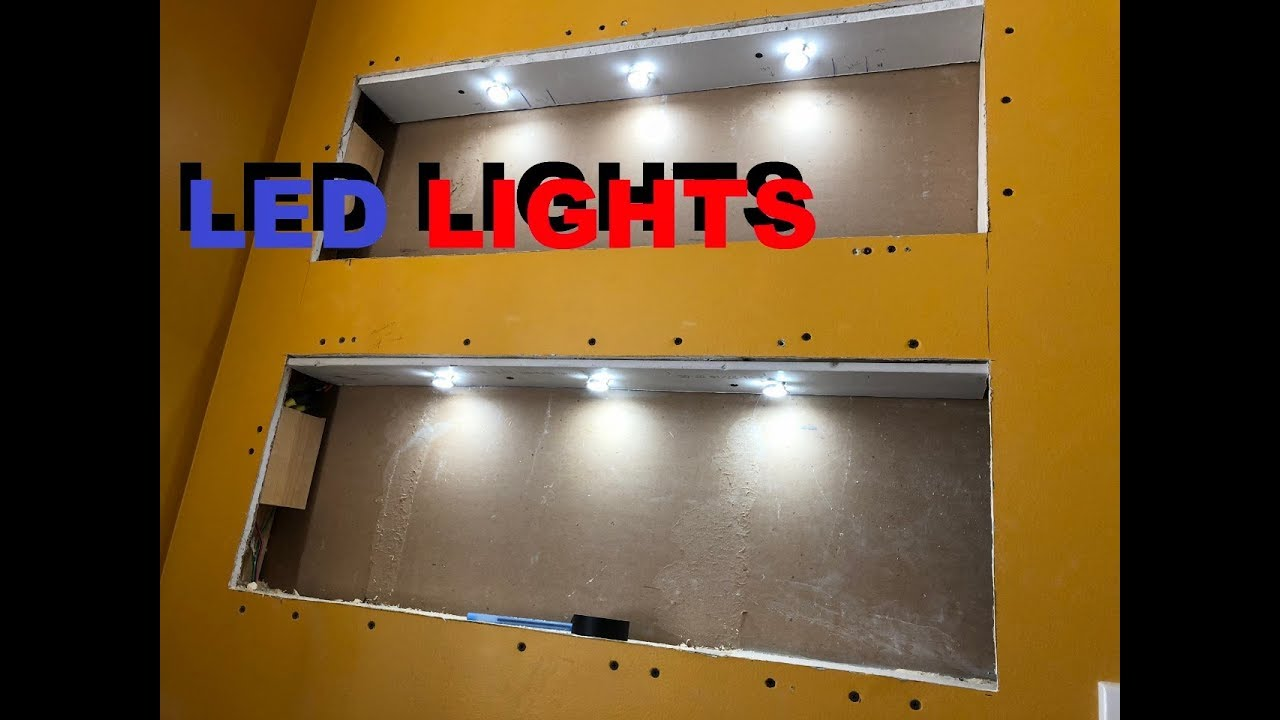 How To Wire Up Led Lights In A Bathroom Deck Or House