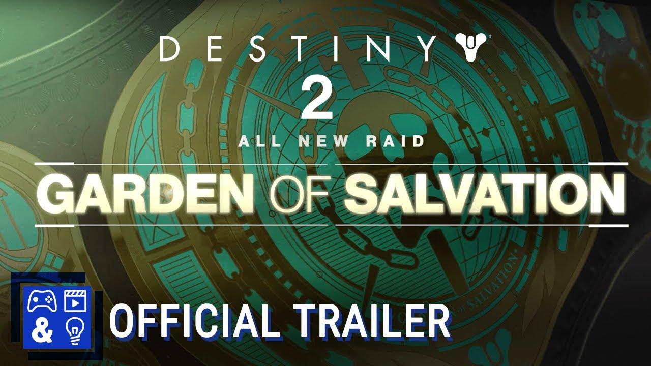 Destiny 2 Shadowkeep \u2013 Garden of Salvation Raid Trailer