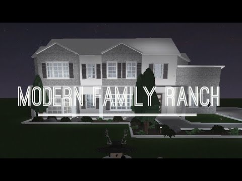 Roblox Welcome To Bloxburg Modern Family Ranch 80k Youtube
