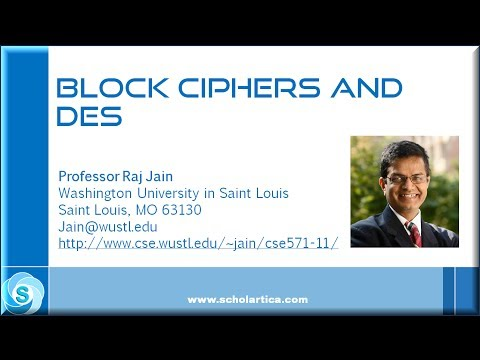 Block Ciphers And Data Encryption Standard (DES) - Part 1