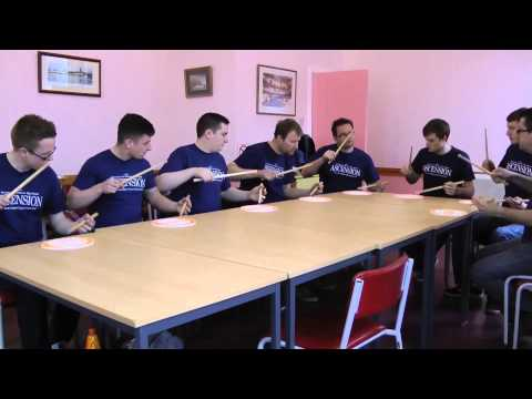 Drumming Mad StartPad played by Inveraray & District Drum Corps