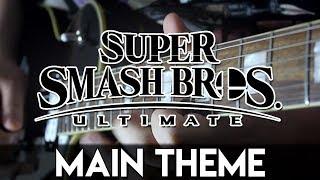 Super Smash Bros. Ultimate Theme Guitar Cover   DSC