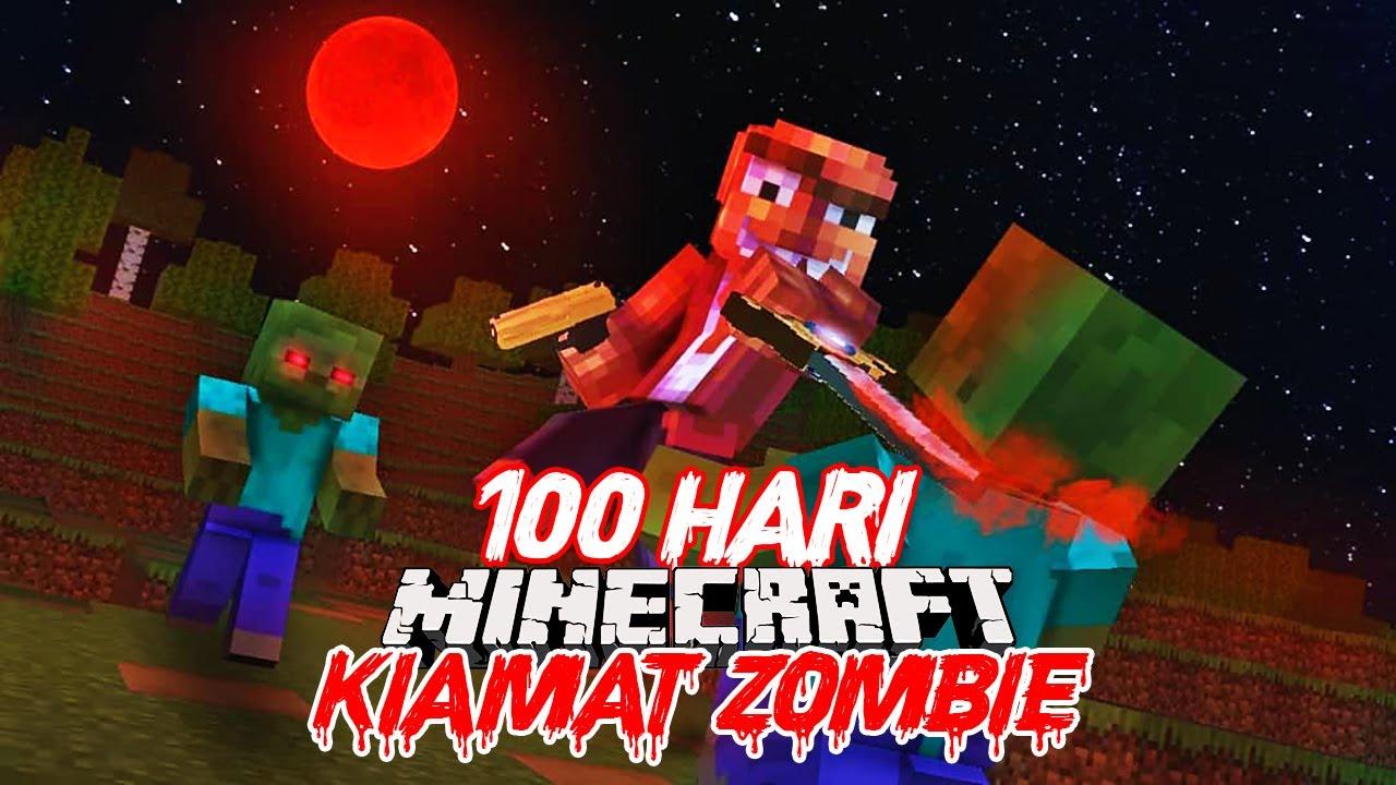 Survival 100 Hari Kiamat Zombie di Minecraft (Hari 20-40)