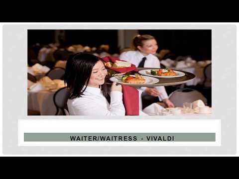 vacancy for Waiter/waitress job in UAE