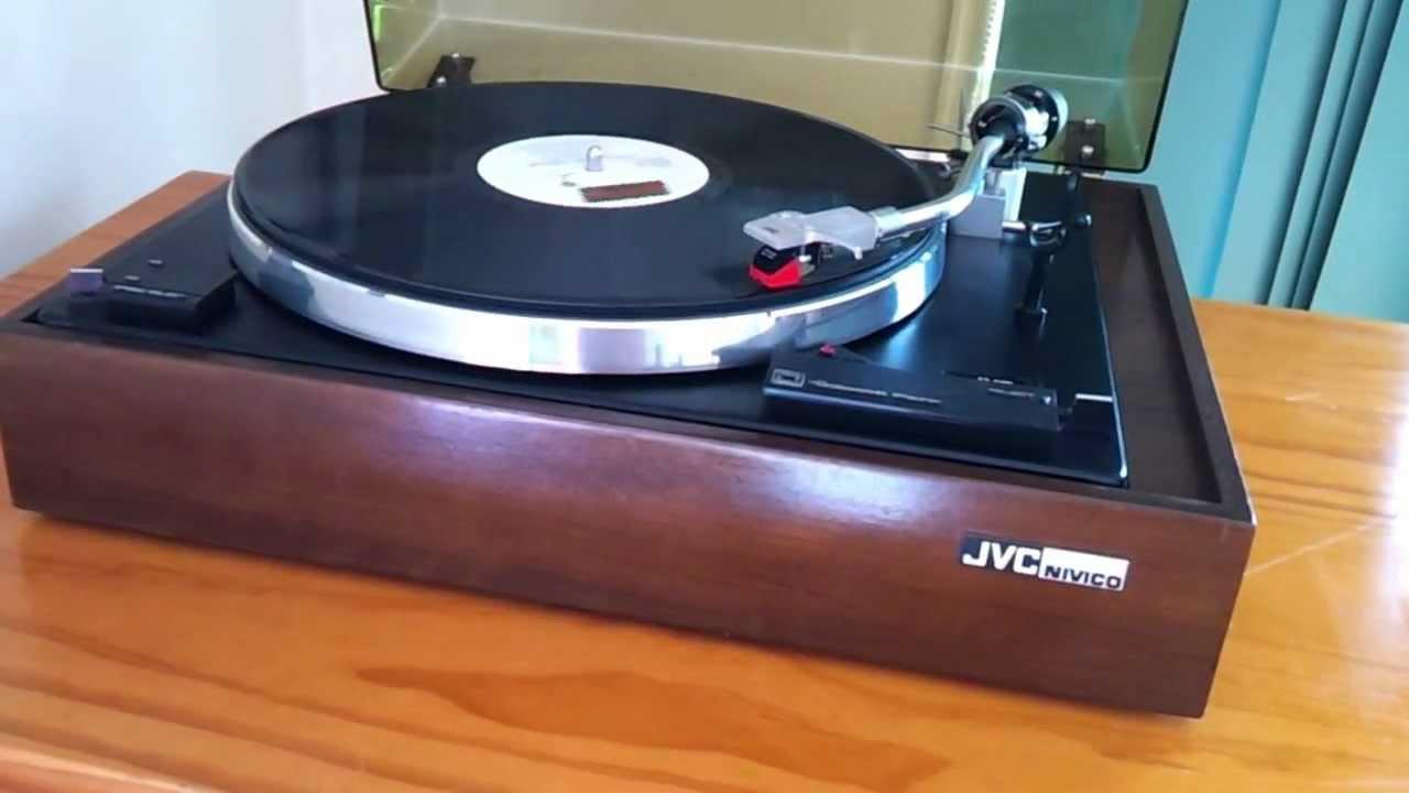 Ebay Record Player >> JVC turntable on Ebay 17/02/2013 - YouTube