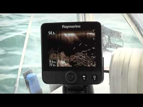Raymarine Dragonfly in Action - Miami Boat Show
