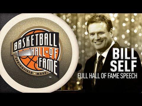 Bill Self's Hall of Fame Enshrinement Speech