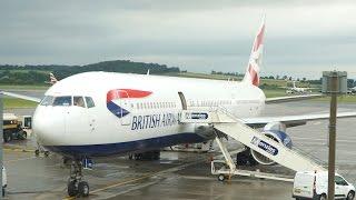 British Airways 767-300ER Flight Report + Edinburgh BA Lounge -  Edinburgh to Heathrow.