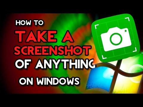 How to Take a Screenshot/Screen Grab/Screen Picture on Windows 7/8/10 [2016]