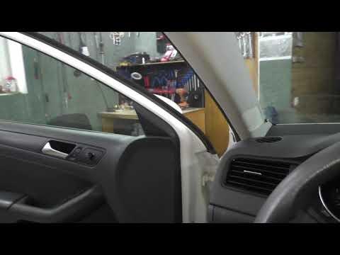 Volkswagen Polo 2015 ЗАМЕНА ДИНАМИКОВ + ДООСНАЩЕНИЯ