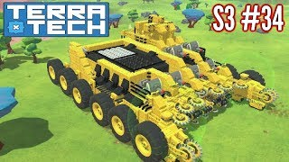 Terratech | Ep34 S3 | Nomad's New Behemoth Wheels!! | Terratech v0.8.1 Gameplay
