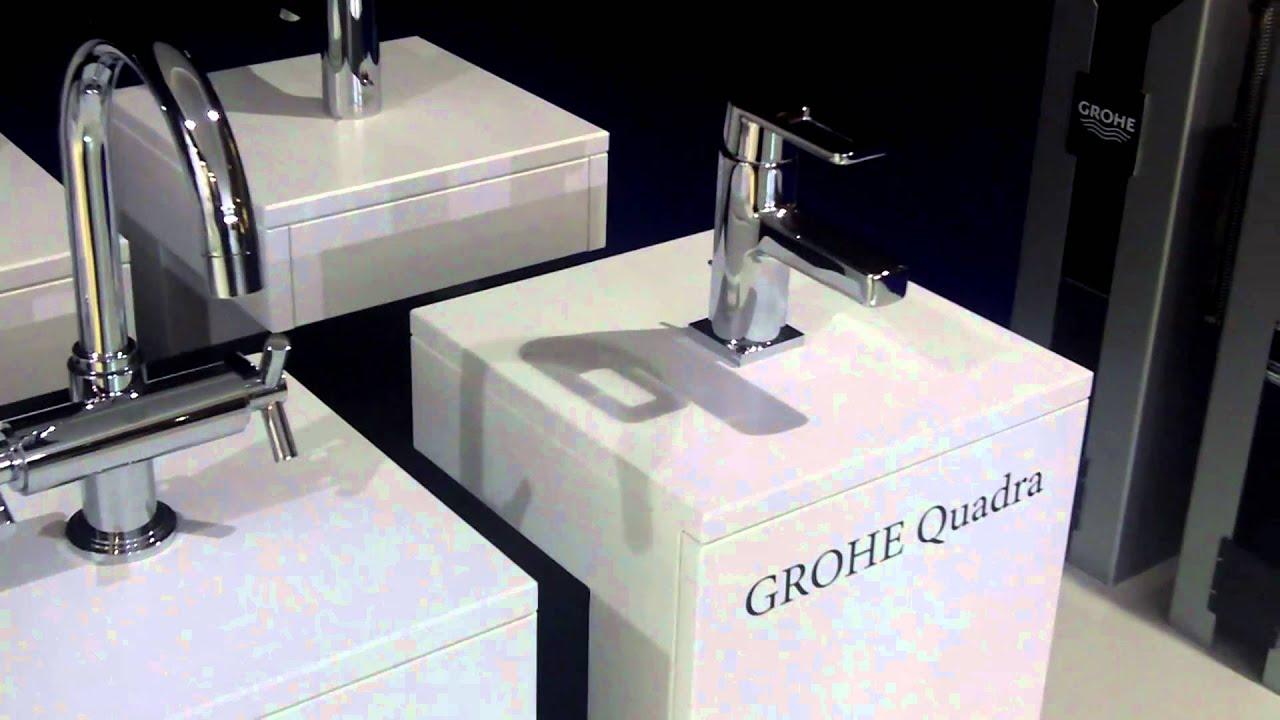 Grohe quadra wastafelkraan op interieur beurs kortrijk for Interieur beurs