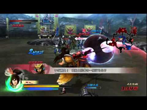 Sengoku BASARA 3 keiji Maeda Play (2)