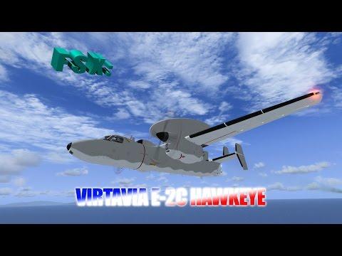 FSX Review - Virtavia E-2C Hawkeye (Steam Exclusive)