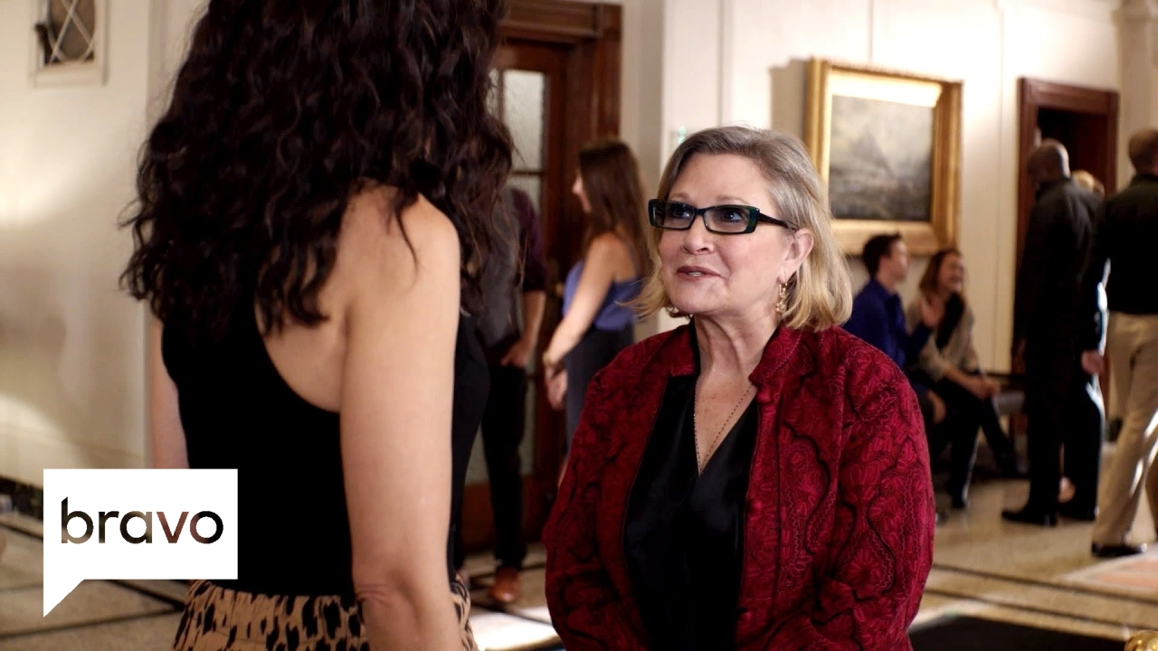 Download Girlfriends' Guide to Divorce: Unseen Footage of Carrie Fisher (Season 2, Episode 6) | Bravo