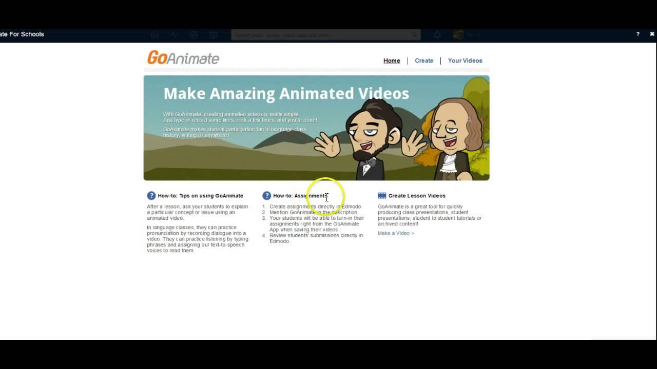 GoAnimate App - YouTube