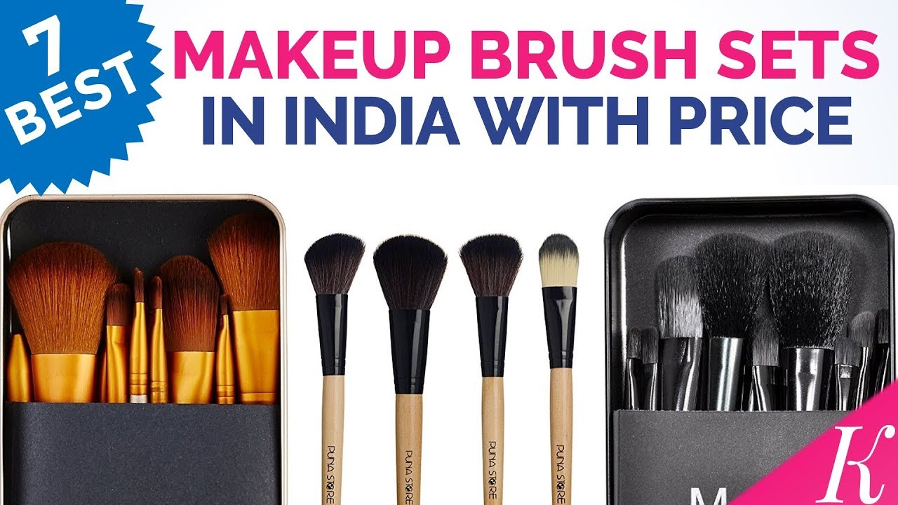 7 Best Makeup Brush Sets in India with Price