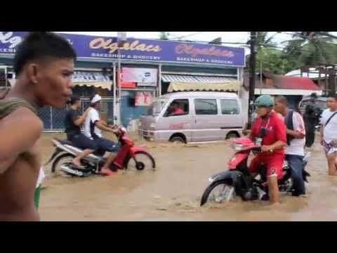 Flooding in Dumaguete City, Philippines - December 2011