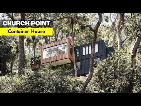 Church Point Container Home In Sydney, Australia- Rama Architects