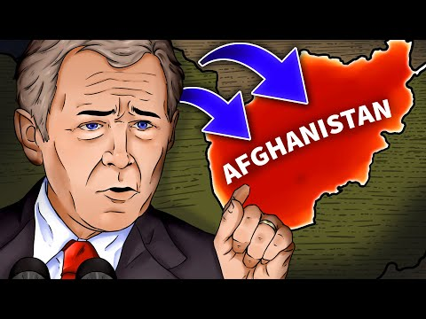 2001 Invasion Of Afghanistan | Animated History