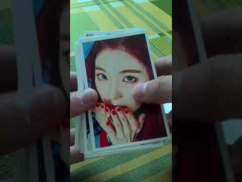 Card Lomo Red Velvet Rookie