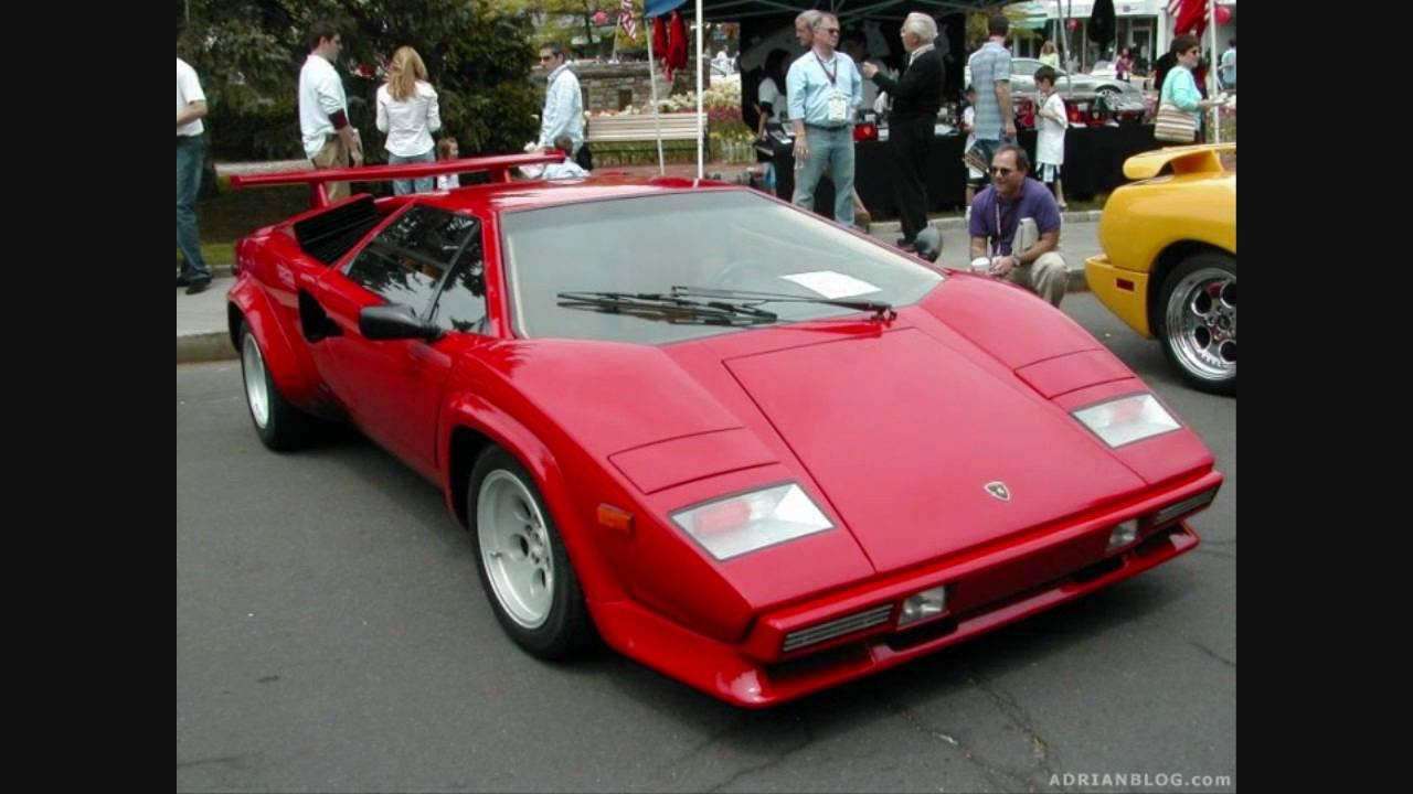 Lamborghini Countach Lp500s Exhaust Sound Youtube
