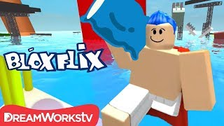 A Boat CAPTAIN in UNDERPANTS in Roblox Pillow Fighting Simulator | BLOXFLIX