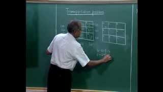 Mod-09 Lec-37 Transportation and Distribution Models