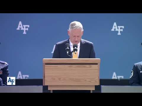 DFN: U.S. Air Force Academy Graduates Class of 2018, COLORADO SPRINGS, CO, UNITED STATES, 05.23.2018