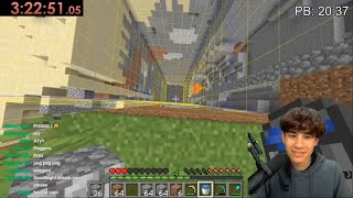 Minecraft 1.16.1 Chunk Mining Speedrun WR Attempts