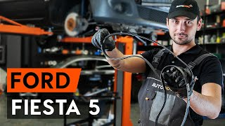 Come sostituire cinghia poly-v su FORD FIESTA 5 (MK6) [VIDEO TUTORIAL DI AUTODOC]