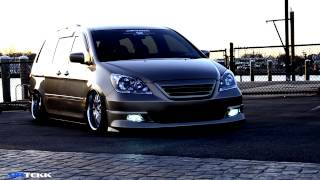 Galo Brito Honda Odyssey VIP Air Ride kit Airtekk Engineering stance air suspension revhart