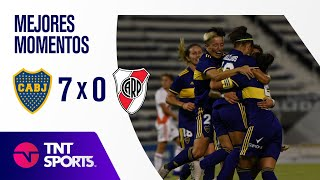 Resumen de Boca Juniors vs River Plate (7-0) | Final - Torneo Transición 2020
